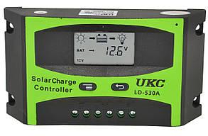 Контроллер для солнечной батареи UKC LD-530A 30A (2817)
