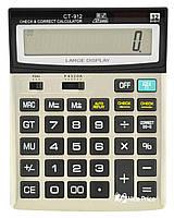 Большой настольный калькулятор CT-912 (3283)