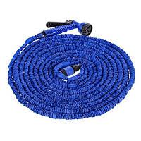 Шланг для поливу X HOSE 22,5 м з розпилювачем Blue