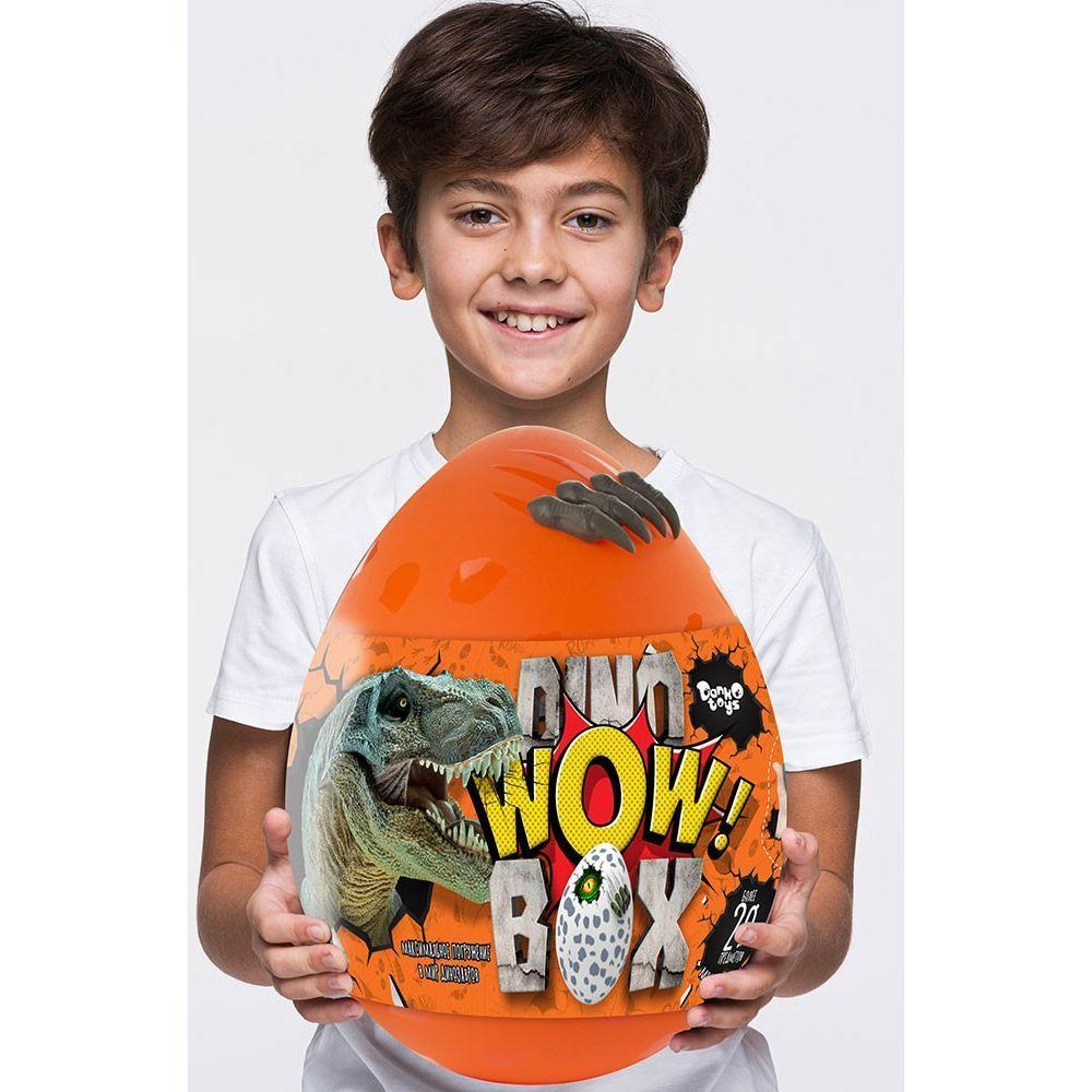 Игровой Набор Большое Яйцо Динозавра Dino WOW DWB-01-01 (оранжевое)