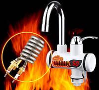 Мгновенный проточный водонагреватель с дисплеем, фото 1