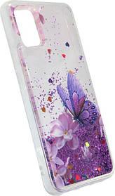 Накладка SA A515 violet Butterfly аквариум