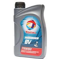 Трансмиссионное масло TOTAL 75W-80 GL-4+ TRANSMISSION BV   1л