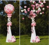Шар сюрприз на свадьбу