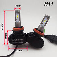 Светодиодные LED лампы для фар автомобиля S1-H11