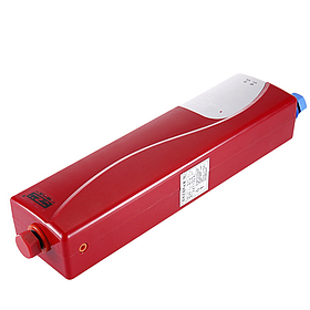 Електричний проточний водонагрівач c душем GZU D8 3000 Вт Червоний (2918-8850)