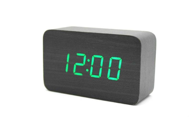 Настільний годинник VST-863 Чорний (200585)