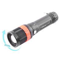 Аккумуляторный фонарь Yajia 218, 1LED