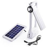 Кемпинговая лампа Yajia 6865 RT, 1W+66SMD, солн. батарея