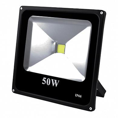 Прожектор светодиодный матричный 50W COB, IP66 (влагозащита), гладкий рефлектор