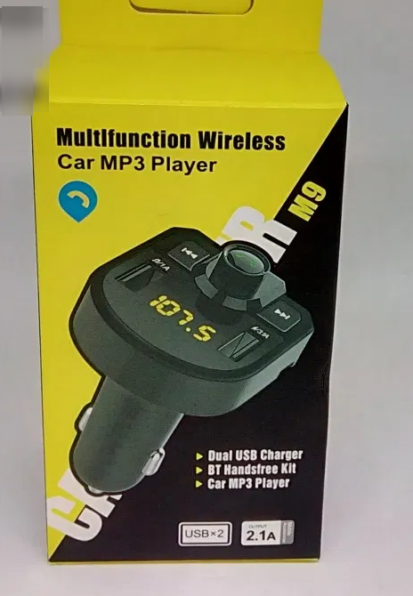 Трансмитер FM MOD.M9 BT, Трансмитер от прикуривателя, FM Модулятор M9