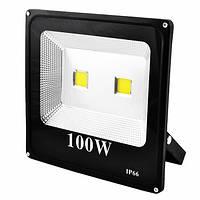 Прожектор SLIM YT-100W 2COB, 9000Lm, IP66 (влагозащита)