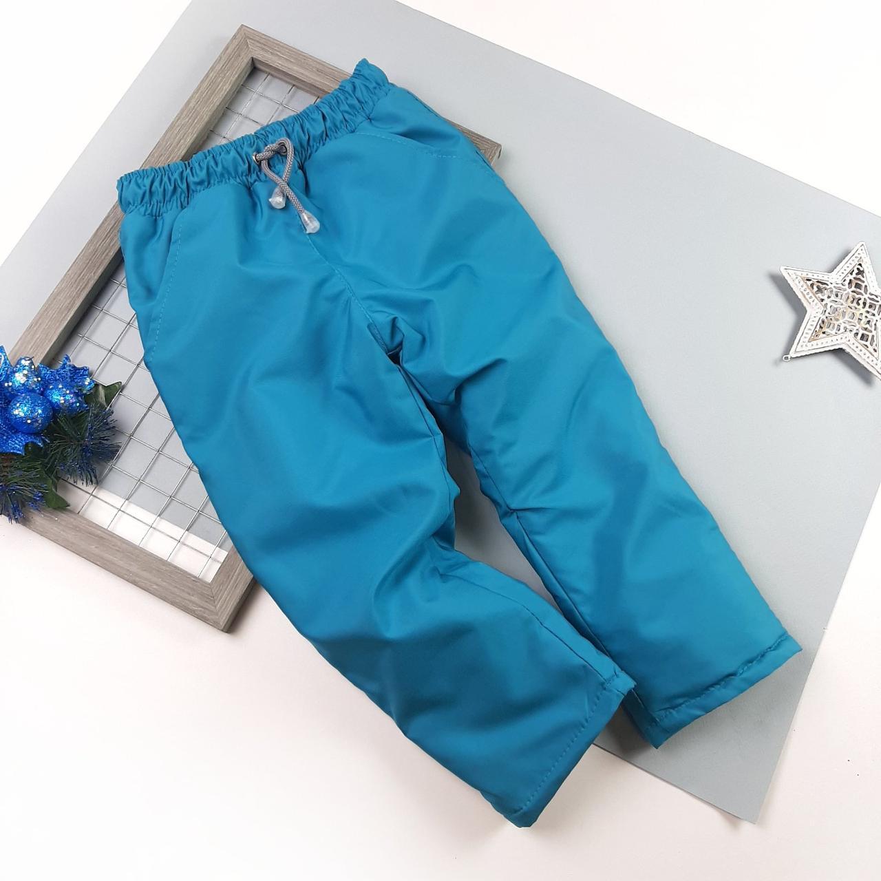 Зимові штани на холософте 92,98