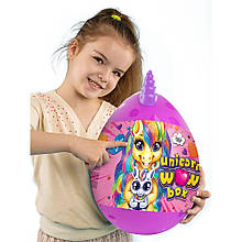 """Ігровий набір """"Unicorn WOW Box"""" Велике Яйце єдинорога UWB-01-01 (ФІОЛЕТОВЕ)"""