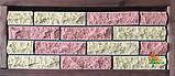 Кирпич облицовочный ECOBRICK скала ложок-тычок 230x100x65 мм коричневый, оливковый, фото 5