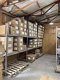 Стеллаж полочный 2500х1535х600 мм, 3 полки с ДСП оцинкованный для склада, гаража, магазина, фото 2