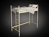Кровать двухъярусная детская металлическая Эдельвейс Чердак МФ Тенеро, фото 2