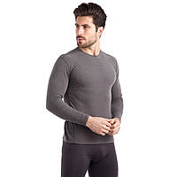 Термобелье мужское футболка с длинным рукавом (лонгслив) JASON 1925 (PL, хлопок, флис двухсторонний, M-3XL,