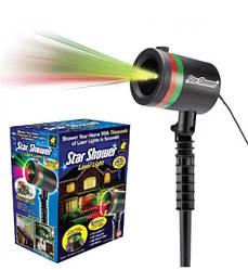 Лазерный проектор Star Shower Lazer light (для улицы и дома) Звезды