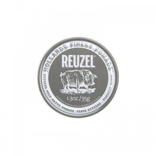 Матовая помада для волос Reuzel Extreme Hold Matte Pomade 35г