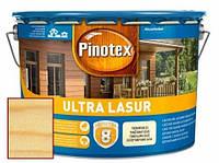 Защитная пропитка для древесины антисептик Pinotex Ultra Lasur, 10 л