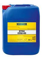 Масло для сельхозтехники 20W40 RAVENOL STOU (Германия) цена (20 л) купить