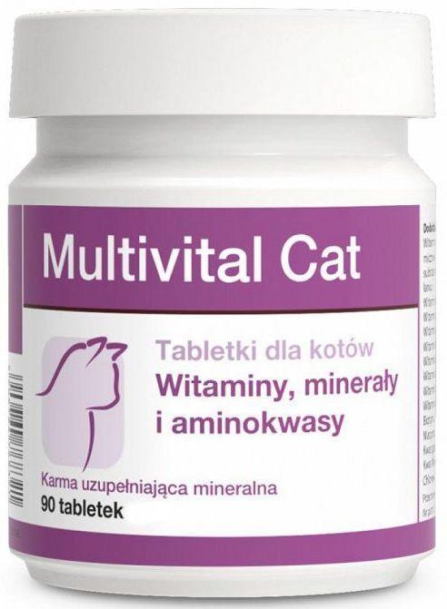 МУЛЬТИВИТАЛ КЭТ MULTIVITAL CAT DOLFOS витамины для кошек в период беременности и лактации, 90 таблеток