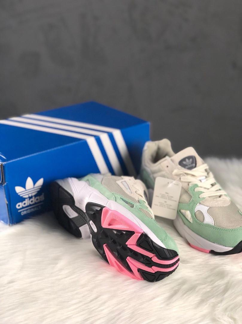 Adidas Falcon Grey Easy Green (Бирюзовый)