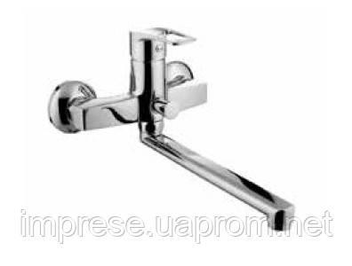 Смеситель для ванны с длинным изливом Lidice 35095