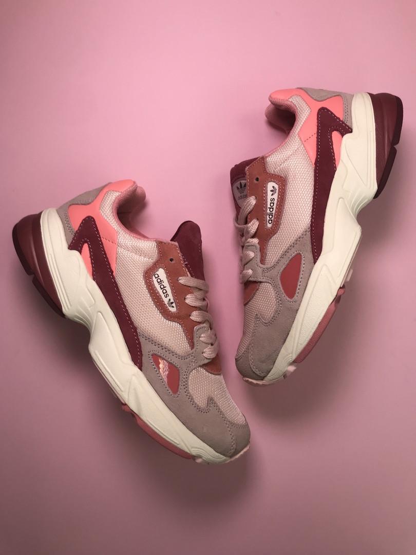 Adidas Falcon Pink Burgundy (Розовый)