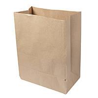 Бумажный крафт пакет с дном 260*150*350 бурый