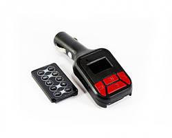 Автомобильный FM модулятор, трансмиттер  CM i16, Автомодулятор c пультом дистанционного управления