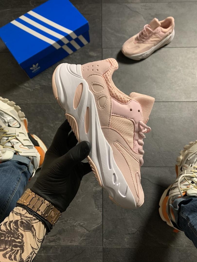 Adidas Yeezy Boost 700 Pink White (Розовй)