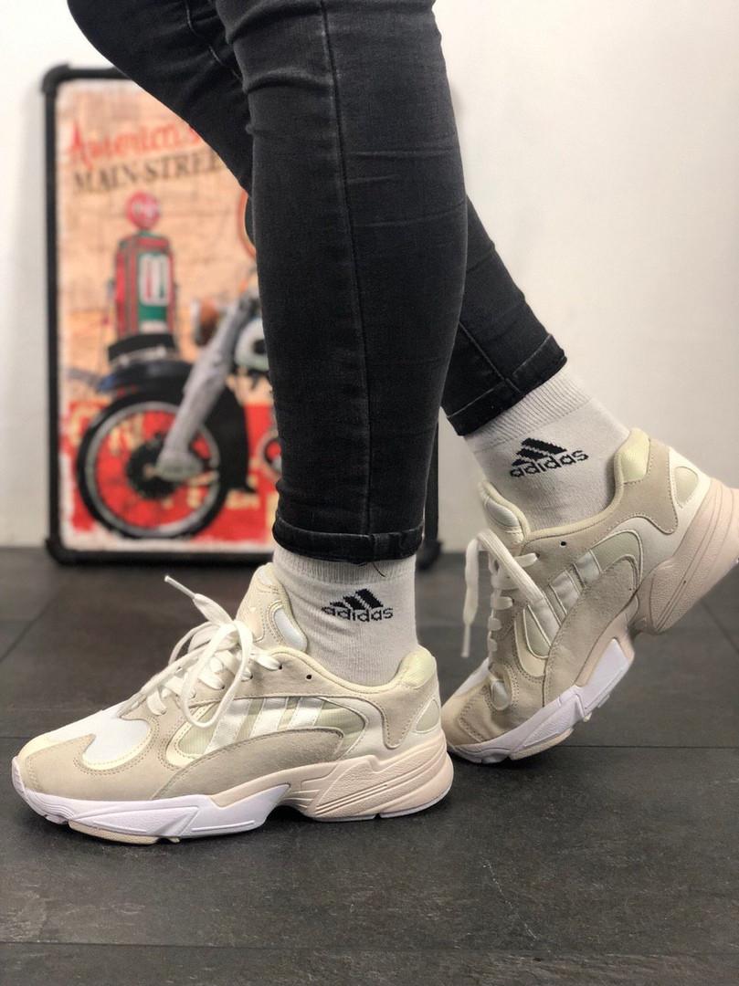 Adidas Yung 1 White Grey (Серый)