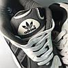 Adidas Yung 1 Grey White (Серый), фото 9