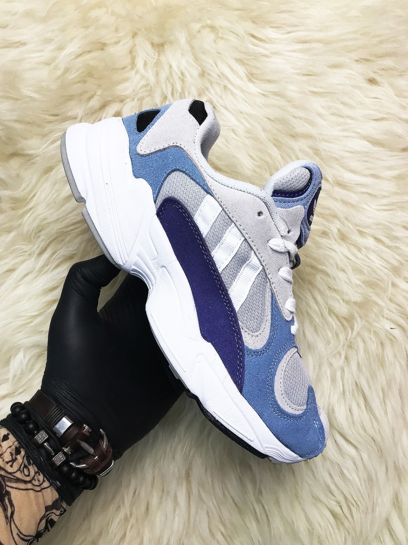 Adidas Yung 1 Grey Blue (Синий)