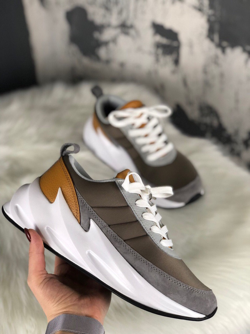 Adidas Sharks Brown Grey White (Коричневый)