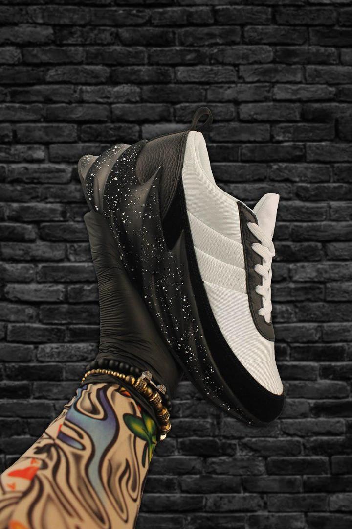 Adidas Sharks White Black (Черный)