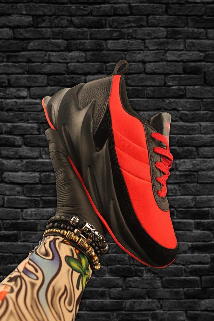 Adidas Sharks Black Red  (Красный)