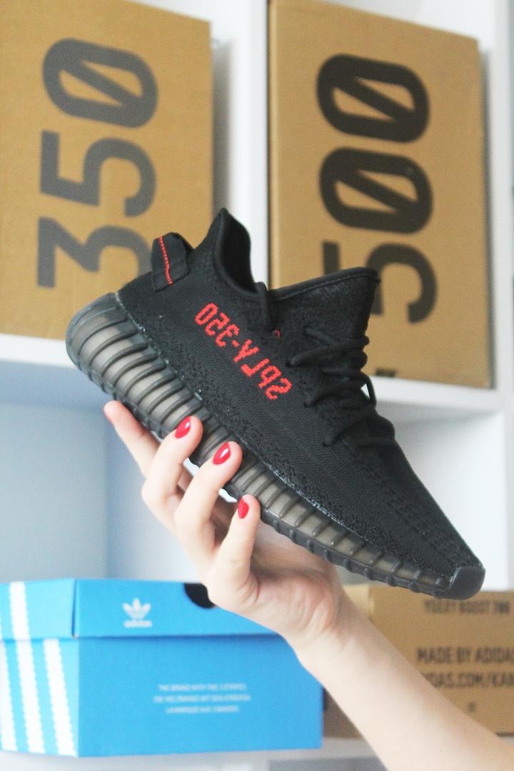 Adidas Yeezy boost 350 Black (Черный)