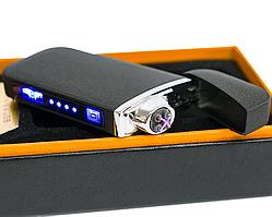 USB Зажигалка электроимпульсная ZGP 22, Сенсорная электрозажигалка