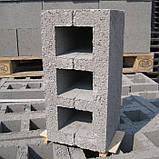 Шлакоблок стеновой 190х390х190, фото 2