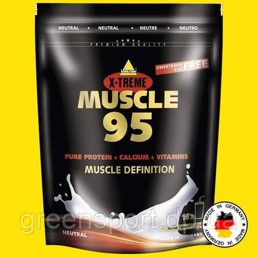 Немецкий 95% премиум протеин Inkospor MUSCLE 95 Без вкуса Наращивание и дефиниция мышц