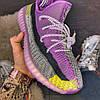 Adidas Yeezy Boost 350 Yeshaya  (Фиолетовый), фото 6