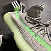 Adidas Yeezy Boost 350 v2 Grey Green  (Серый), фото 8