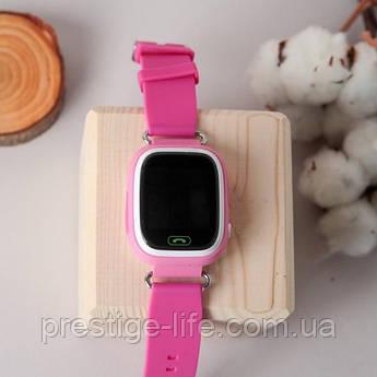 Смарт-часы с GPS, Wi-Fi, Smart Baby Watch Q90 Розовые