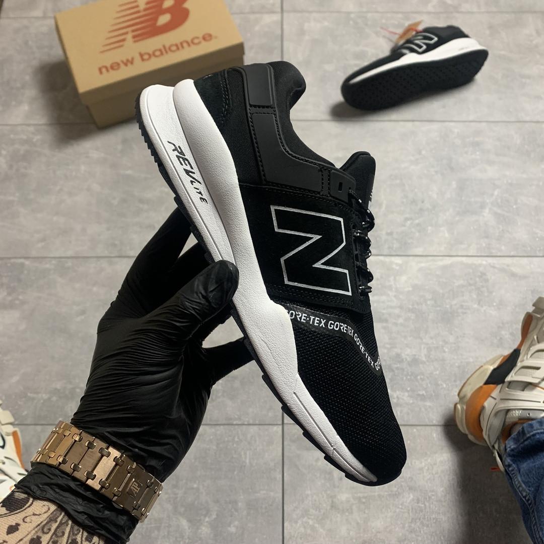 New Balance 247 Black White (Чёрный)
