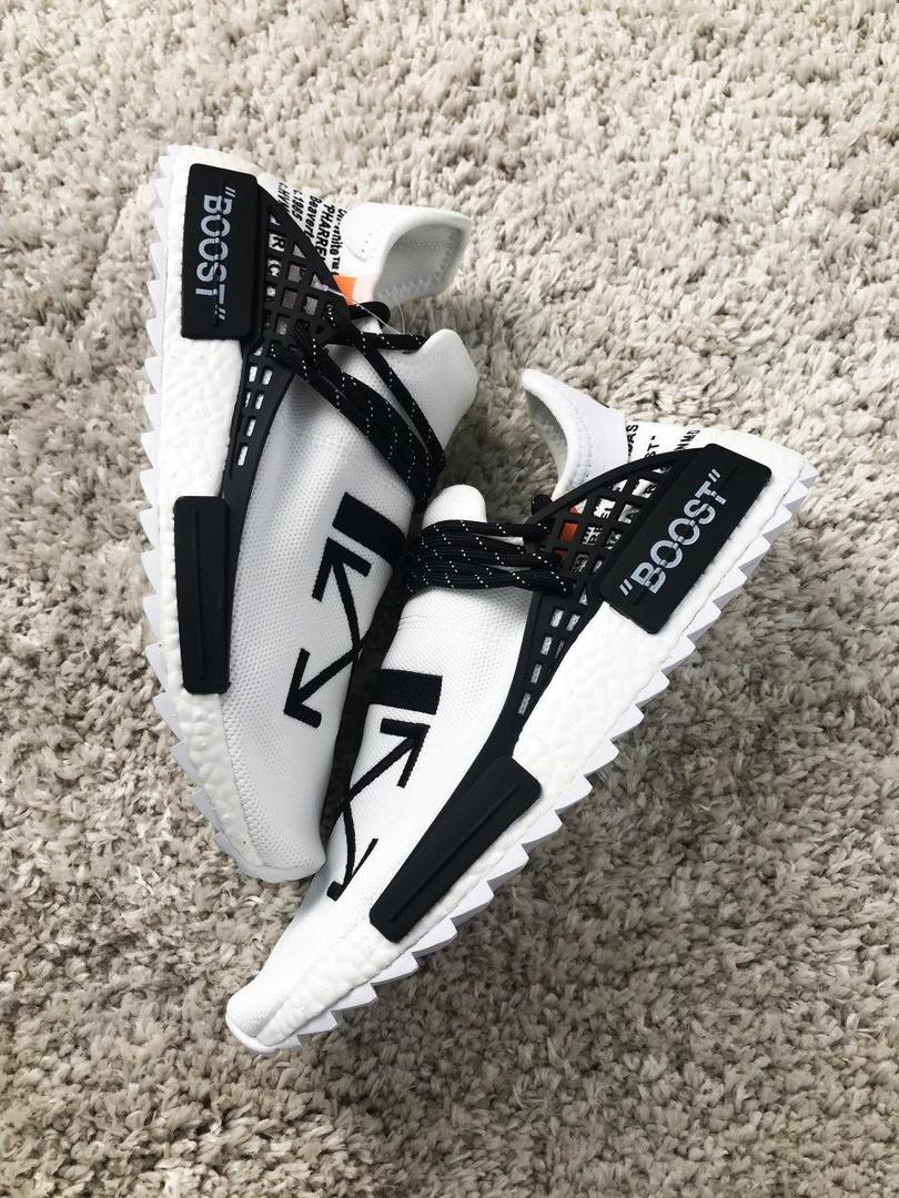 Adidas NMD Human Race White Black (Белый)