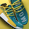 Adidas NMD Human Race Green Yellow (Зеленый), фото 6