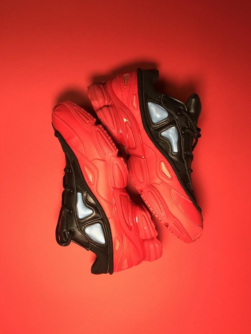 Adidas Raf Simons Ozweego Red Black (Красный)